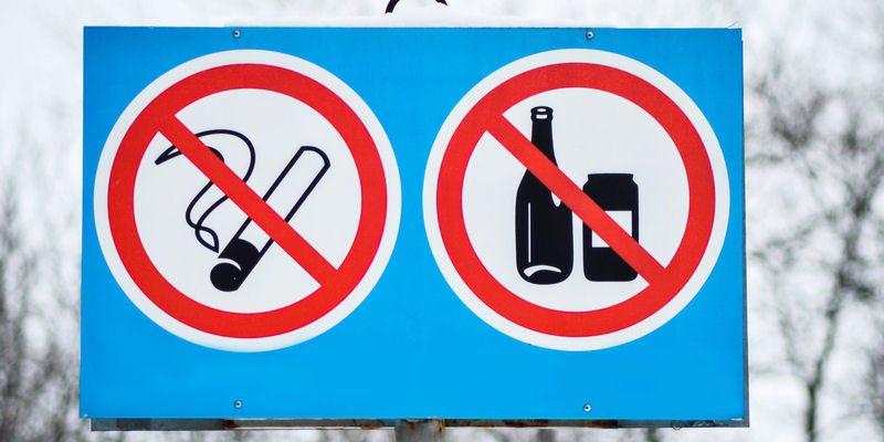 Kein Nikotin Kein Alkohol - vorbeugend gegen Krampfadern