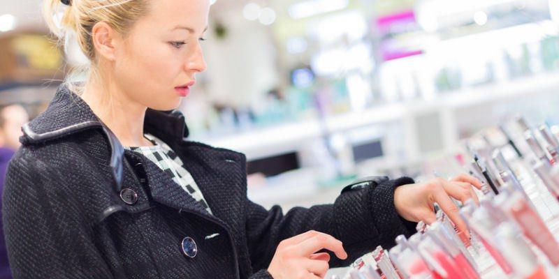 Shopping Kosmetik oder Arzneimittel