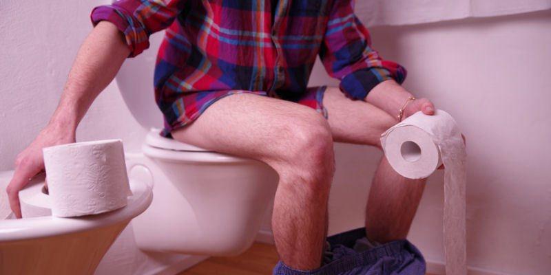 Haeufiger Stuhlgang und Verstopfungen Symptome Reizdarm