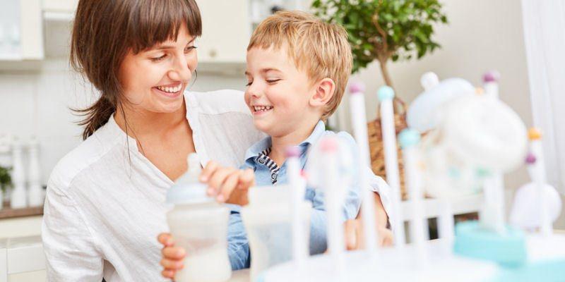 Probiotika fuer die Darmflora von Kindern