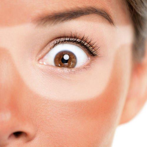 Sonneneinstrahlung und UV Licht beguenstigen Augenringe Entstehung