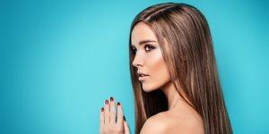 Tricks und Optionen um Haare ohne Hitze zu glaetten