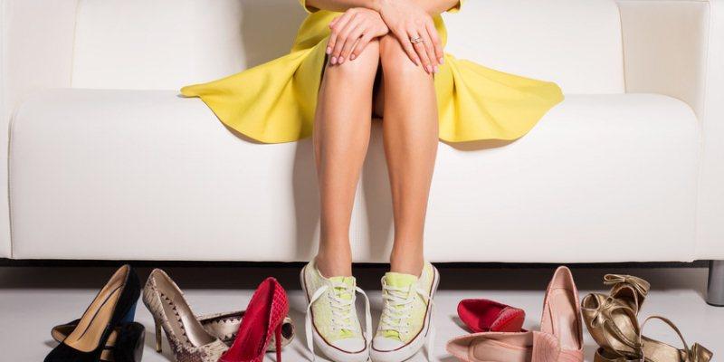 das richtige Schuhwerk waehlen bei Hallux valgus