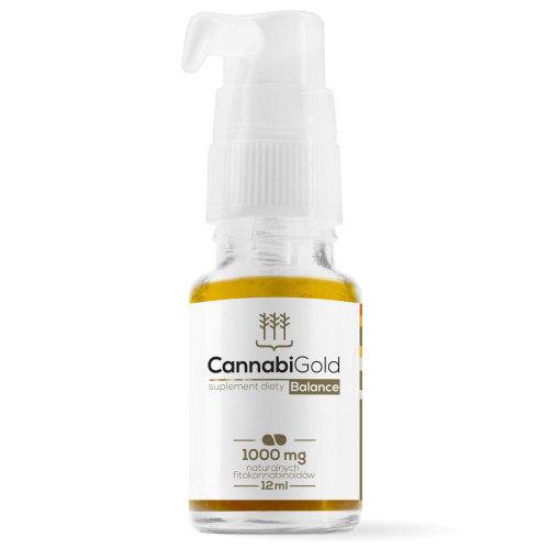 CannabiGold CBD Öl Flasche